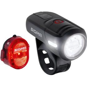 SIGMA SPORT Aura 45/Nugget II Zestaw oświetlenia na USB